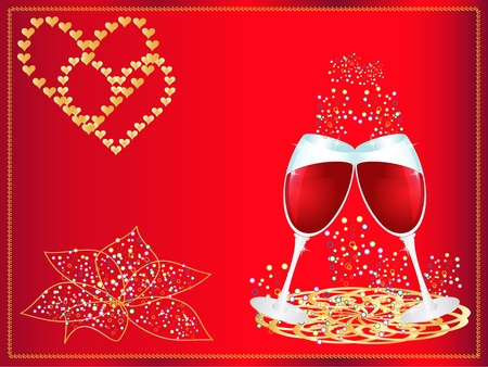 vector illustration Valentines Day Vector