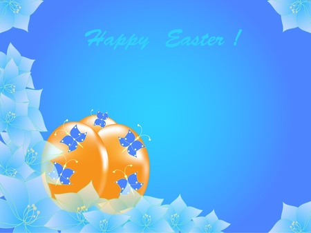 illustration of Easter Day Vector