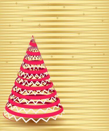 abstract Christmas tree Stock Vector - 15315059