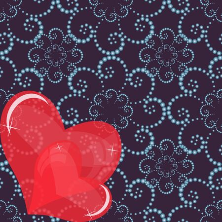 abstract illustration of Valentine Vector