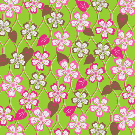 abstract vector illustration of floral Stock Vector - 18006305