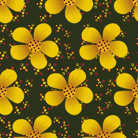 sophistication: abstract illustration of floral