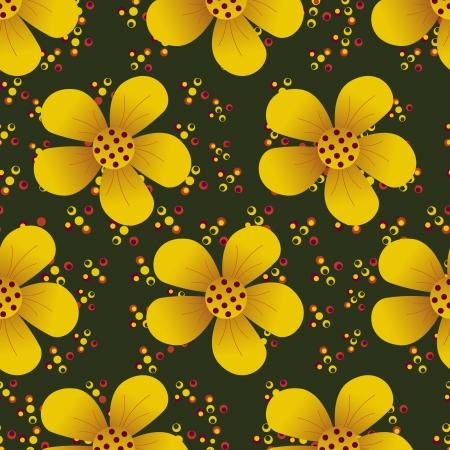 sophistication: Ilustraci�n abstracta floral de Vectores