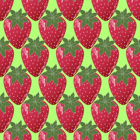 illustration of strawberries Vector