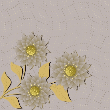 nbsp: abstract vector floral illustration