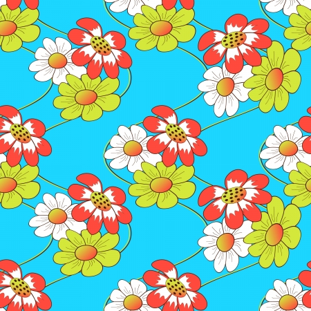 Abstract floral vector illustration Vector