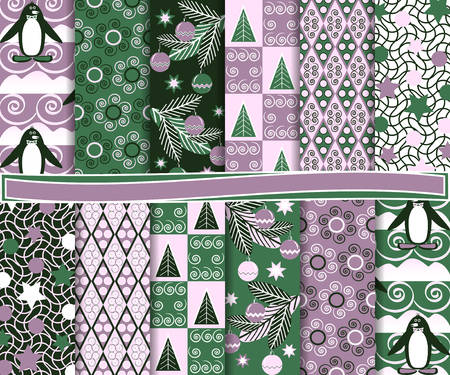 Abstract vector set of paper for scrapbook Vector