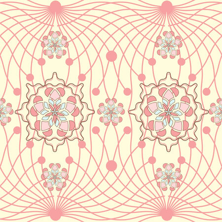 vector illustration with abstract pattern