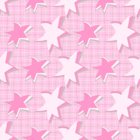 abstract vector illustration with stars Vector