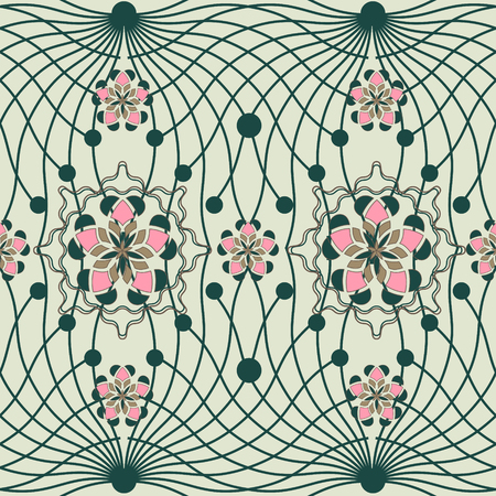 vector illustration with abstract pattern Vector