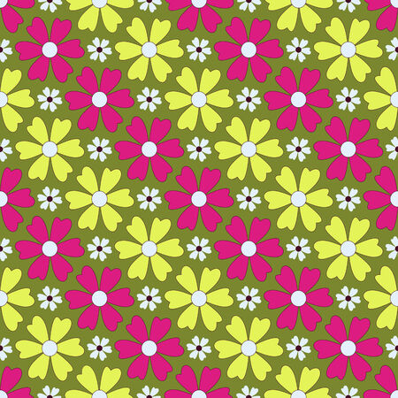 clippings: Seamless abstract floral vector illustration