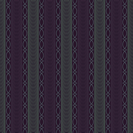 Abstract vector illustration background with guilloche stripes Vector