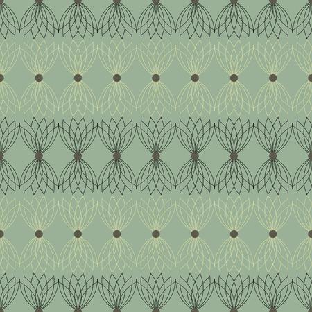 escarapelas: ilustraci�n vectorial sin fisuras de los rosetones abstractos
