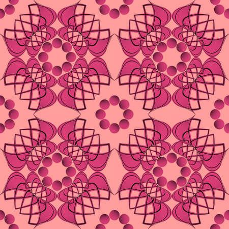 formas abstractas: Patr�n de formas abstractas. Ilustraci�n vectorial Vectores