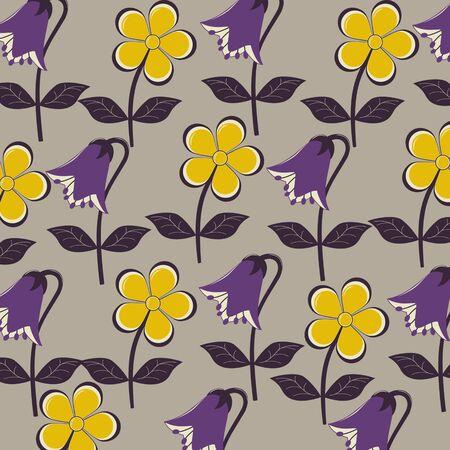 flowers background: flores del vector resumen de antecedentes Vectores