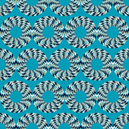 optical illusion: Optical illusion of motion. Vector illustration. Illustration