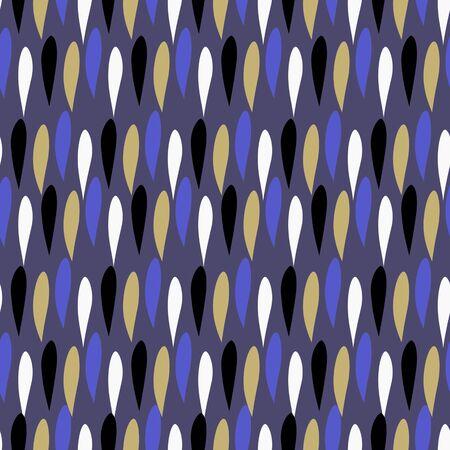 petals: seamless abstract vector illustration of color petals Illustration
