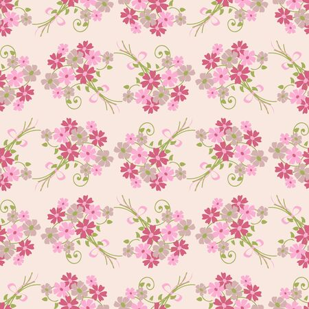 abstract floral: Seamless abstract floral vector illustration