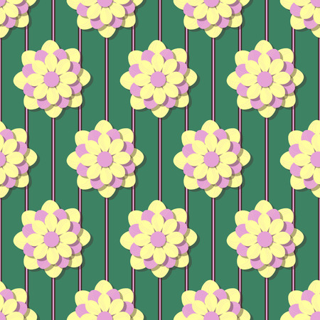 abstract floral: abstract floral vector illustration Illustration