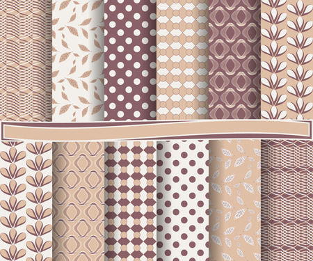 decoratively: set of abstract vector paper with decorative shapes and design elements for scrapbook