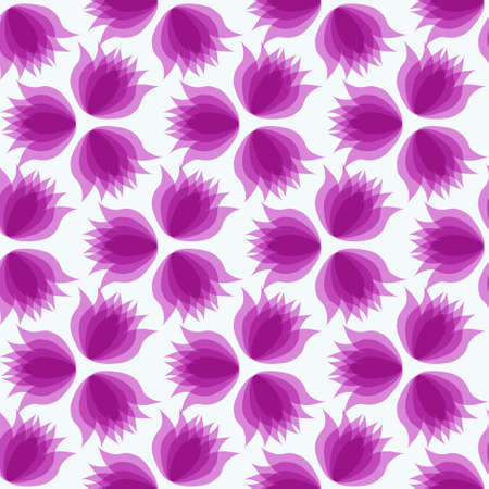 decorative wallpaper: Abstract vector illustration. Flower pattern