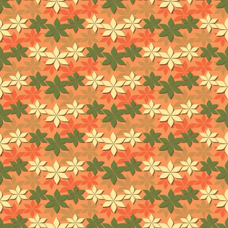 motive: Seamless abstract floral vector illustration. Autumn motive