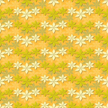 autumn motif: Seamless abstract floral vector illustration. Autumn motive