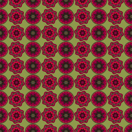 Nahtloser abstrakter Vektor Illustration Valentinstag. irriges Muster, Herz