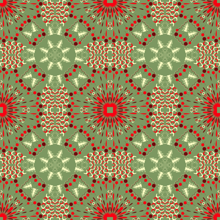 new years: Christmas pattern.