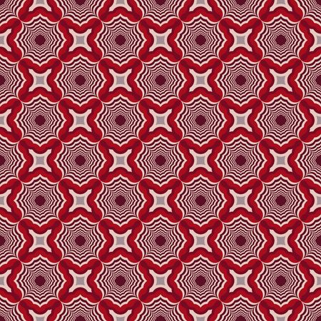 A Seamless vector pattern background from striped shapes. Design elements for Scrapbook. Can be used for wallpapers, fills images, background, surface Illustration