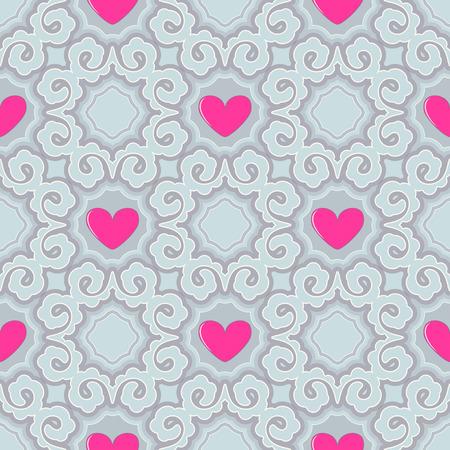 Valentines Day theme illustration.