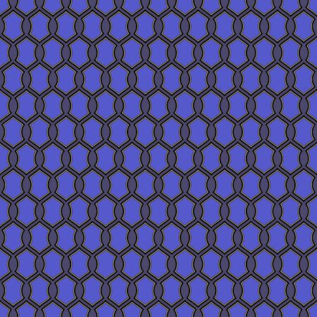 Seamless vector pattern background from abstract geometric figures. Design elements for Scrapbook. Can be used for wallpapers, fills images, background, surface Illustration
