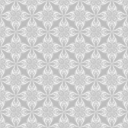 Seamless vector abstract background. Pattern of abstract decorative shapes. Can be used for wallpaper, image fill, web page, background, surface. Ilustracja