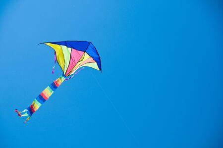 Flying kite photo