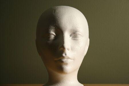 Estudio de la luz y la sombra en la cabeza Foto de archivo - 4229947
