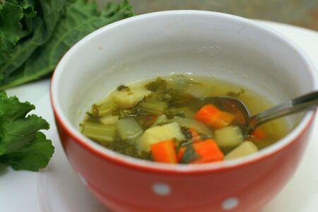 ケールと野菜のスープ