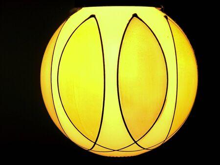 lamp shade: Contemporary art deco design on lampshade