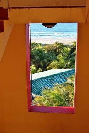 Landscape view of scenics and ocean in Havana, Cuba
