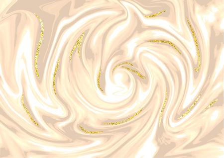 Texture or marbre pour brochure, identité visuelle, modèle de carte de visite ou fond branché, paillettes, pierre, granit, fond d'écran de mode vecteur, affiche, couverture, modèle moderne Banque d'images - 83070932