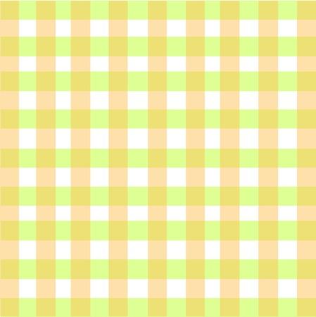 creamy: Creamy Green Plaid Pattern Illustration
