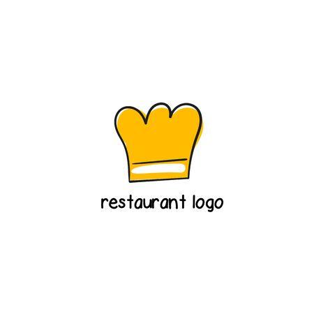 Cooking hat . Sign for restaurant, cafe