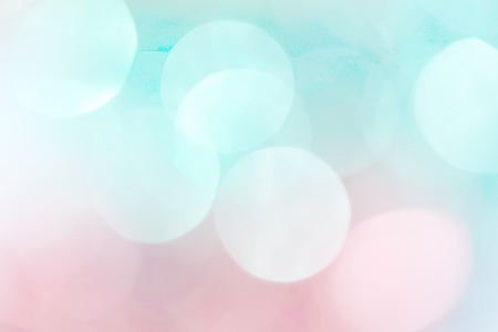 A shiny background of blue and pink. Template for New Years postcard. Stock Photo
