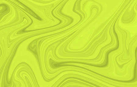 The background is green with a wavy marble pattern. Fashionable color is a lime punch. Stock Photo