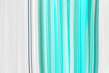 Neo mint background in a modern trend shade, a beautiful textural eyelash with waves and patterns. Template for screensaver or packaging, abstract illustration in blue. Standard-Bild - 135877408