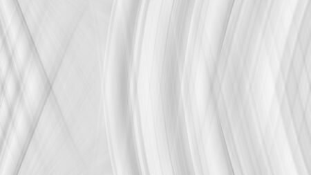 White background with texture of lines, gray gradient in modern design. Screensaver template, light color of straight stripes. Standard-Bild - 137430483