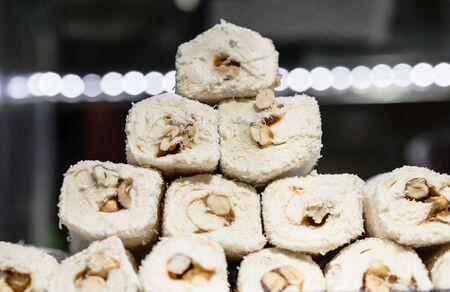 baklava: Assorted Turkish Delight bars