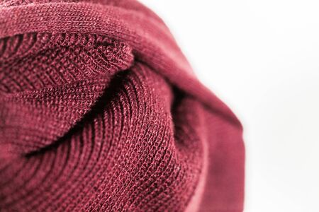 vinous fabric texture, knitted