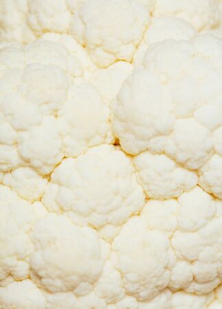 Macro cauliflower photo. Top view 写真素材 - 134738068