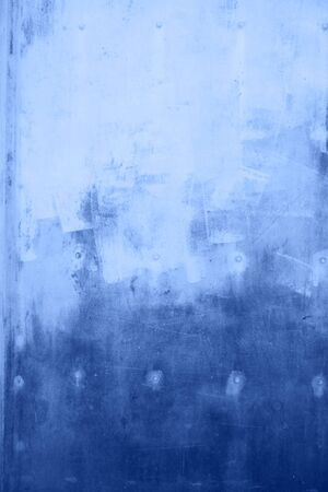 colored in color of year 2020 Classic Blue background. grunge textured wall. Abstract Blue cracked wall background.
