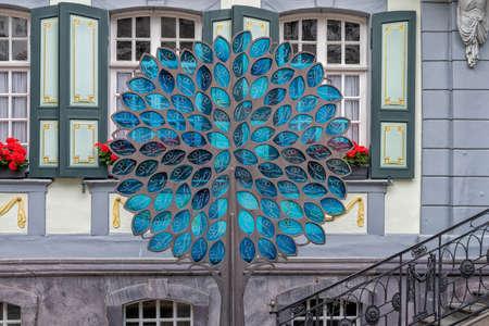 25.07.2020 Germany, old town Monschau, marriage tree, eifel Sajtókép